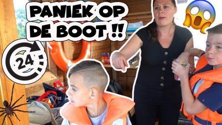 De Bakkertjes – 24 Uur Op Een Bootje In Het Water!!! 🌙🕷🌊 #413