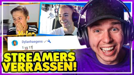 Dylan Haegens Gaming – Streamers Verrassen 2.0!