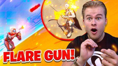Royalistiq – *New* Flare Gun! Steekt Alles In Brand! 😱 – Fortnite Battle Royale