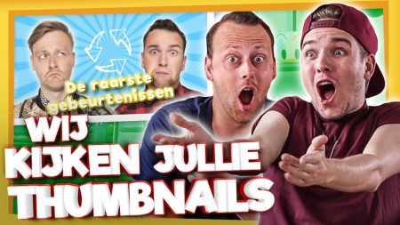 Team Dylan Haegens – Reageren Op Jullie Thumbnails!