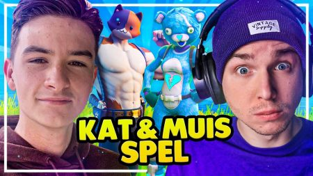 Dylan Haegens Gaming – Kat En Muis Spel In Fortnite! – Met Maximus