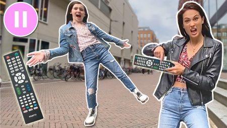 MeisjeDjamila – Extreme Pauze Challenge Met Bibi! – Fan Friday