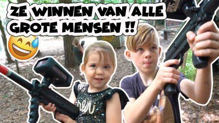 De Bakkertjes – Mega Gun Battle In Het Bos!! En Zwemmen!! #409