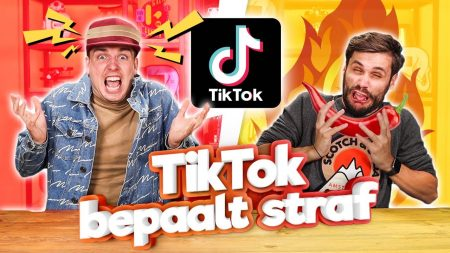 Team Dylan Haegens – TikTok Bepaalt Straf!