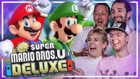 Dylan Haegens Gaming – Super Mario Bros U Deluxe! – Met Marit, Rick en Rens