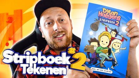 Team Dylan Haegens – Stripboek Pagina Tekenen!