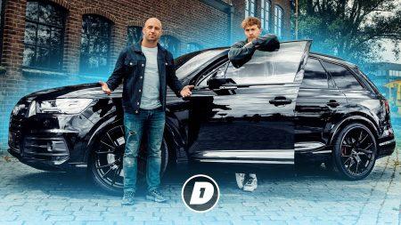"JayJay Boske DAY1 – Snelle: ""Gênant Om Nu Een SQ7 Te Rijden…"" – Auto Van"