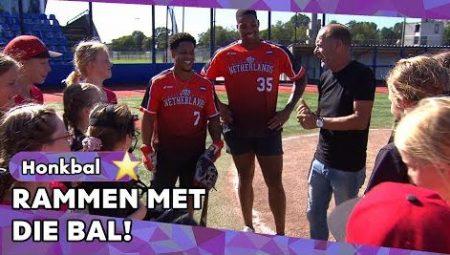 Zappsport – Meidenteam Tegen Oranje-Internationals – Honkbalspecial Met Kaliam Sams En Dwayne Kemp