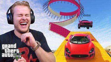 Royalistiq – Hij Wist Niet Dat Je Hier Moet Remmen! 😂 – GTA 5 Online Race Playlist