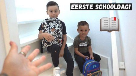 Familie Lakap – Allereerste Schooldag Voor Ilay! #458