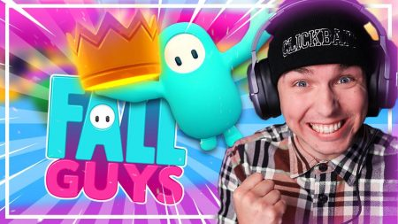 Dylan Haegens Gaming – Dylan's Eerste Win! – Fall Guys #2