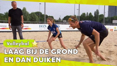 Zappsport – Bang Om Te Vallen? Niet Vallen – Hellup Beachvolleybal Met Alexander Brouwer