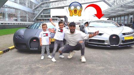 Familie Lakap – We Mochten Rijden In Een Auto Van €3,4 Miljoen!! #459