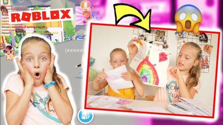 De Zoete Zusjes – Wauw!! Roblox Spelen En Extreem Veel Post Openmaken!!
