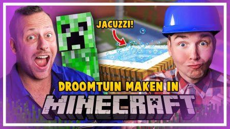 Dylan Haegens Gaming – Onze Droomtuin Maken! – Minecraft Met Rick!