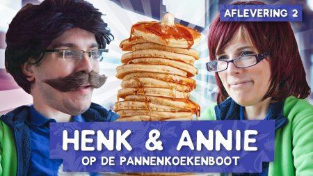 Dylan Haegens – Gratis Eten Op De Pannenkoekenboot! – Keeping Up With Henk & Annie #2