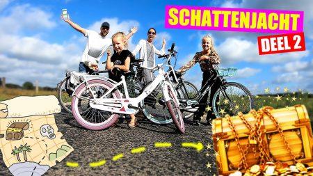 De Zoete Zusjes – Op Schattenjacht Met Onze Ouders!! [Winactie: Win Een Fiets!!]