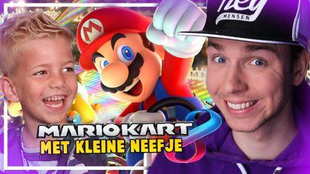 Dylan Haegens Gaming – Mario Kart Met Mijn Neefje!