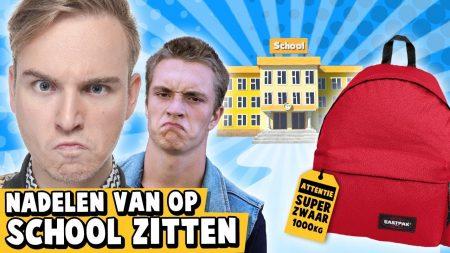 Dylan Haegens – 10 Nadelen Van Op School Zitten!
