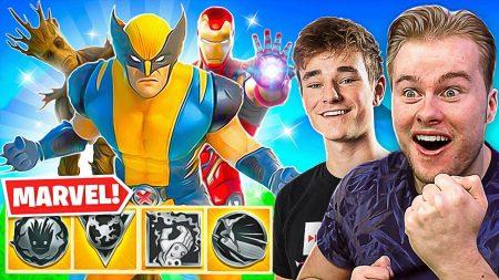 Royalistiq – Don En Ik Testen Alle Marvel Power Ups! – Fortnite Battle Royale