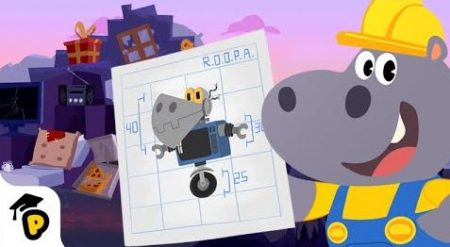 Dr. Panda – Leer Vormen En Bouw Een Robot