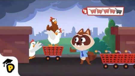 Dr. Panda – Winkelen Trolley Hunt