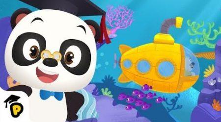 Dr. Panda – Ontmoet Zeedieren In Leo's Gele Onderzeeër
