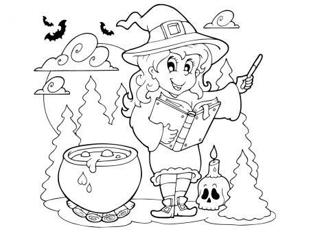 Kleurplaten van Halloween toegevoegd!