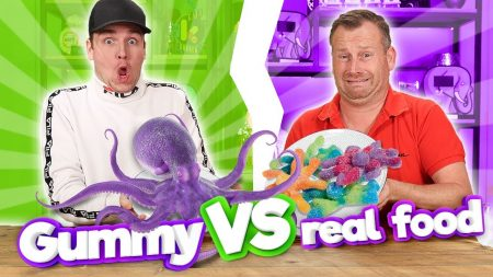 Team Dylan Haegens – Gummy Food vs Real Food! 3.0