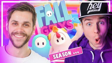 Dylan Haegens Gaming – Bizar Seizoen In Fall Guys! – Met Teun