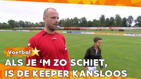 Zappsport – Ohhh, Maar Dat Gaan We Niet Doen Op TV! – Afstandschot Met Anco Jansen – FC Emmen