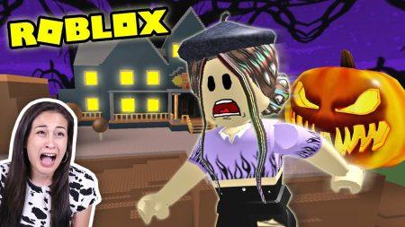 MeisjeDjamila – Roblox Halloween Story – Ontsnappen Uit Het Enge Spookhuis! – Let's Play Wednesday