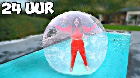 Celine & Michiel – 24 Uur Overleven In Een Bubbel!! *Challenge* #201