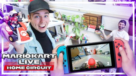 Dylan Haegens Gaming – Real Life Mario Kart Door Ons Kantoor!