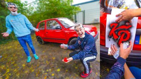 Enzo Knol – De Nissan Micra Opknappen! Nieuwe Kleur Spuiten! #2630