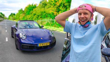 Enzo Knol – Testrit In Een Porsche 911 Met KP Kenteken 😍 #2631