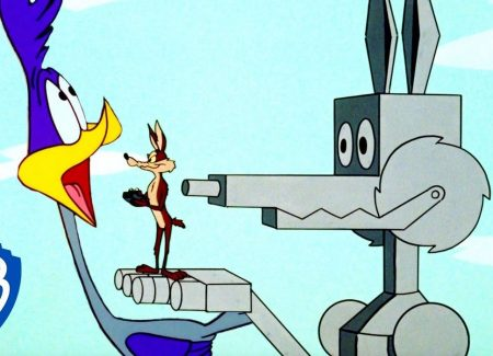 Roadrunner vs Wile E Coyote – The Coyote Machine
