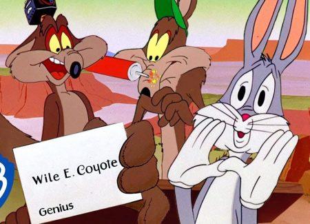 Roadrunner vs Wile E Coyote – Wile E Coyote, Genius
