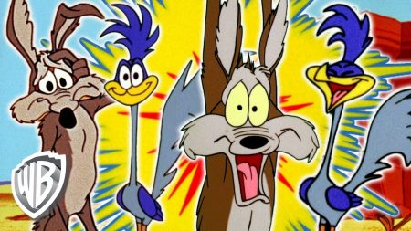 Roadrunner vs Wile E Coyote – Ultimate Roadrunner & Coyote Compilation