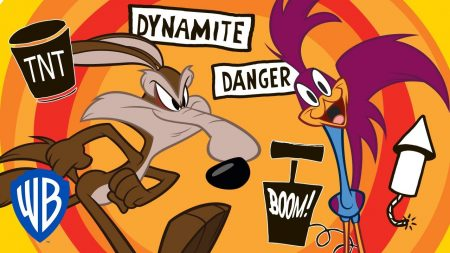 Roadrunner vs Wile E Coyote – Wile E Coyote & Roadrunner Compilation