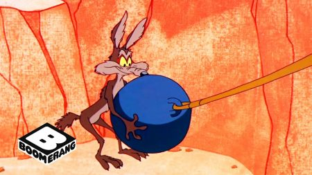 Roadrunner vs Wile E Coyote – Greased