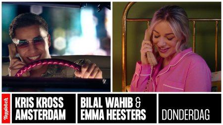 Kris Kross Amsterdam & Bilal Wahib & Emma Heesters – Donderdag