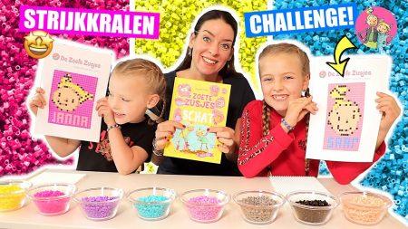 De Zoete Zusjes – Challenge – Onszelf Proberen Te Maken Met Strijkkralen!!!