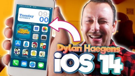 Team Dylan Haegens – Hoe Customize Je iOS 14 iPhone In Dylan Haegens Stijl? + Download Onze Icons!