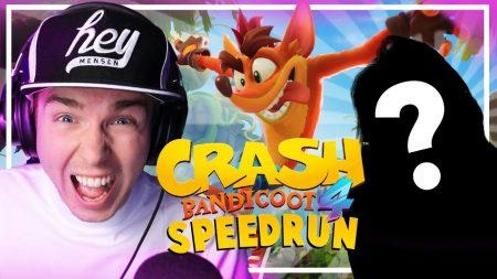 Dylan Haegens Gaming – Speedrun Tegen Andere Youtubers! – Crash Bandicoot 4