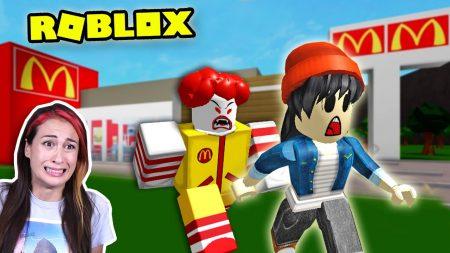 MeisjeDjamila – Roblox McDonalds's: Ontsnappen Uit De Enge McDonald's! -OBBY- Let's Play Wednesday