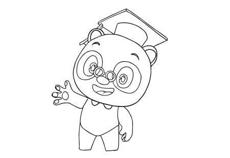 Kleurplaten van Dr. Panda toegevoegd!