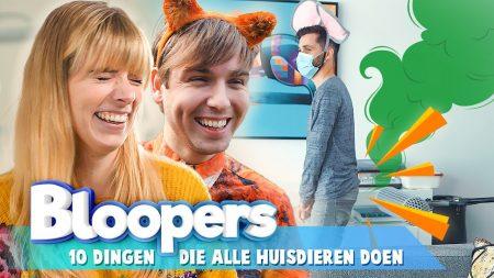 Team Dylan Haegens – Ontelbaar Veel Scheten Van Teun! – Huisdieren Blooper Video