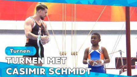 Zappsport – Turnvraag? Casimir Schmidt Helpt! – Special Turnen