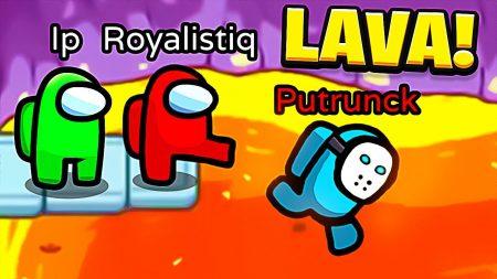 Royalistiq – De Impostor In De Lava Gooien! ? – Among Us #25